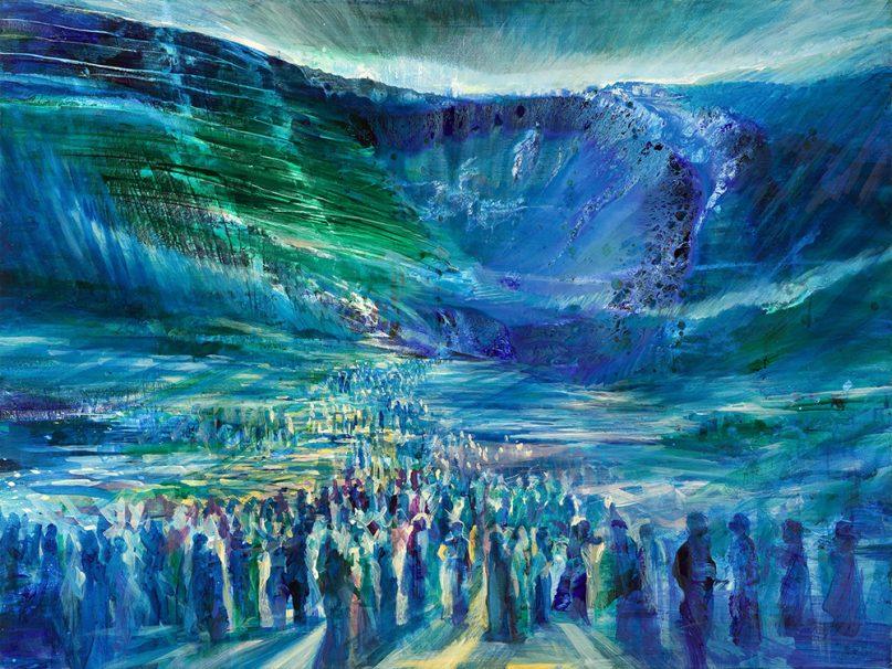 موسی و شکافت دریا