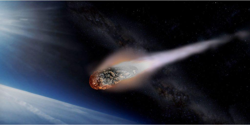 منظومه شمسی و شهاب سنگ